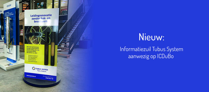 Informatiezuil Tubus System op ICDuBo